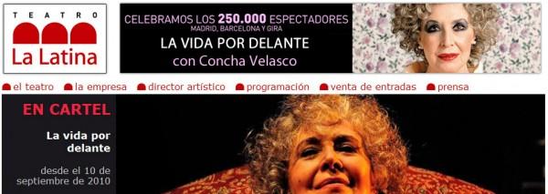 Un nou site pel Teatro La Latina de Madrid