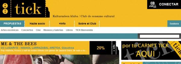 SEIC crea el portal del Club de Consumo Cultural de Euskadi, KulturTICK y un completo backoffice con aplicativo de gestión de socios