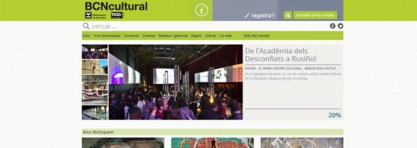 SEIC diseña y crea la web BCN Cultural