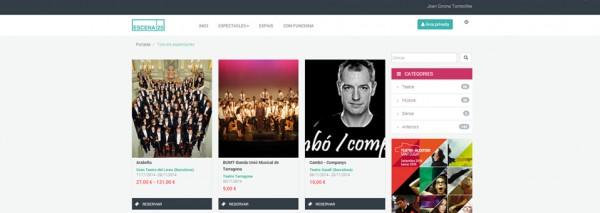 SEIC s'encarrega, per segon any consecutiu, del disseny de la web d'Escena 25